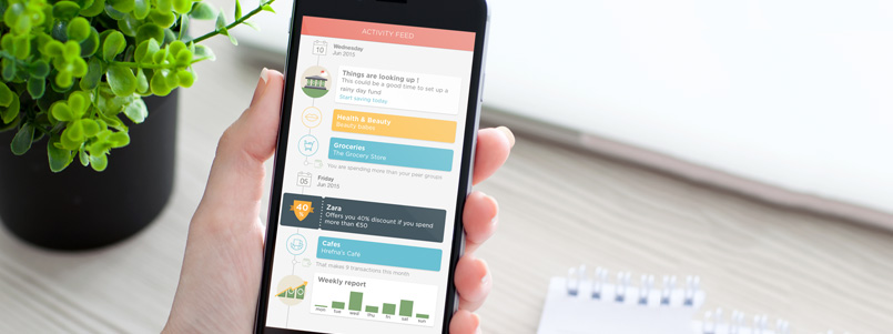 Association Mobile App enriched with Activity feed feature