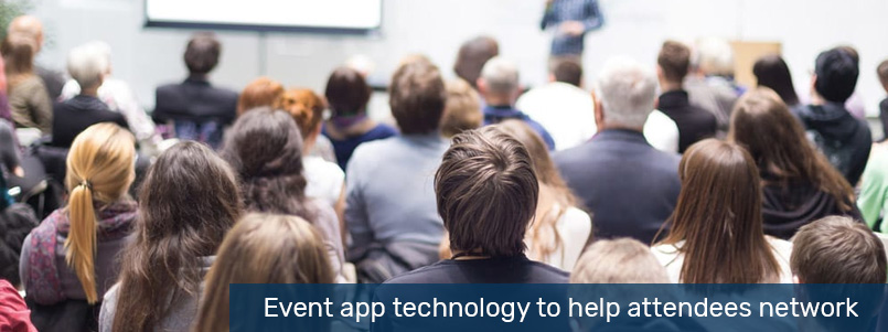 Event app technology to help attendees network